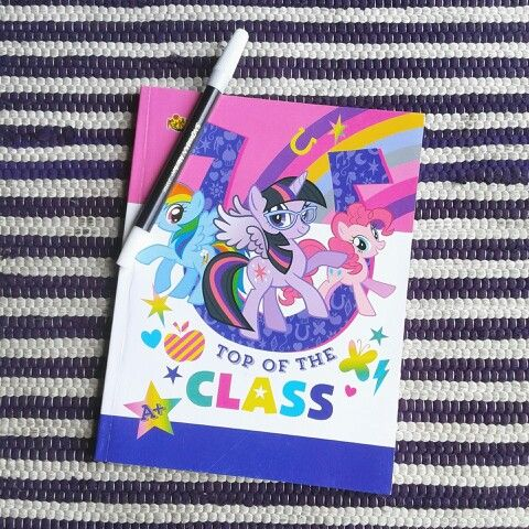 My little pony writing book