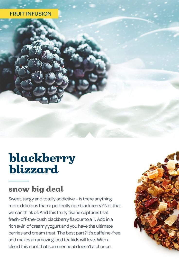 This sweet and tangy blend is bursting with fresh blackberries and creamy yogurt.