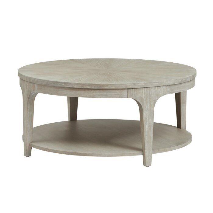 Ivy Bronx Anadarko Coffee Table, Wayfair Round Coffee Table