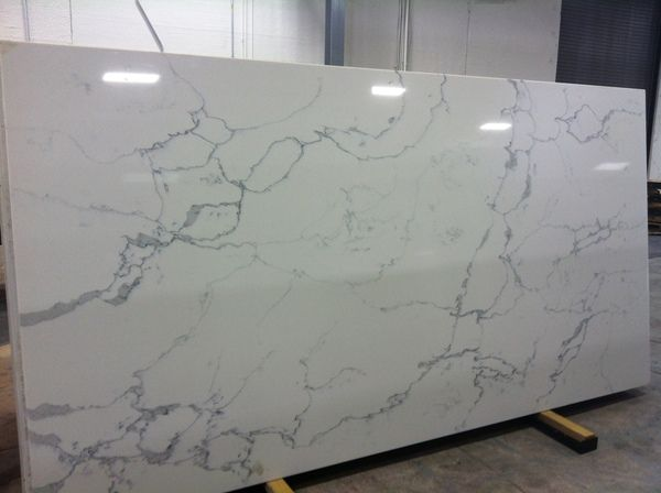 Dal one quartz white statuary available countertops What is the whitest quartz countertop