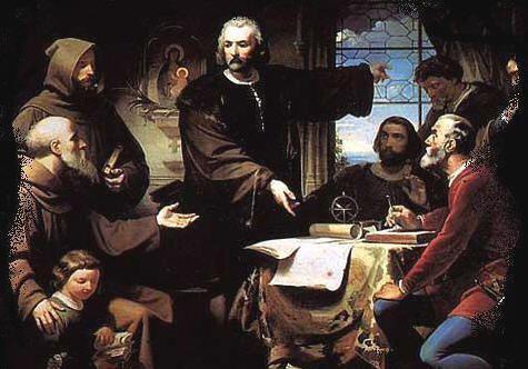 Cristóbal Colón propone una nueva ruta a las Indias