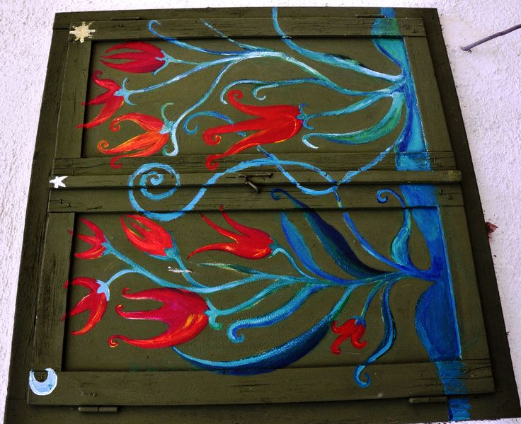 whimsical electricity cabinet