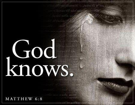 God knows -- Gott weiß