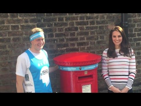 Catherine, Duchess of Cambridge hosts Marathon runners at Kensington Palace
