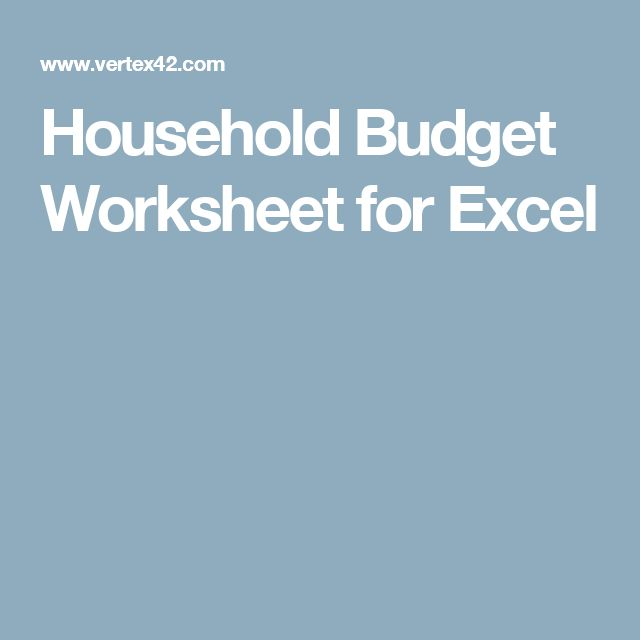 Best  Household Budget Spreadsheet Ideas On   Budget