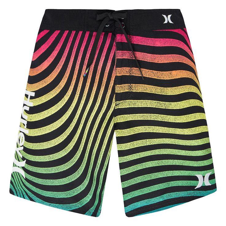 Boys 8-20 Hurley Geo Board Shorts, Size: 18, Ovrfl Oth