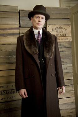 The power of elegance to transform. Steve Buscemi as Nucky Thompson. Boardwalk Empire.