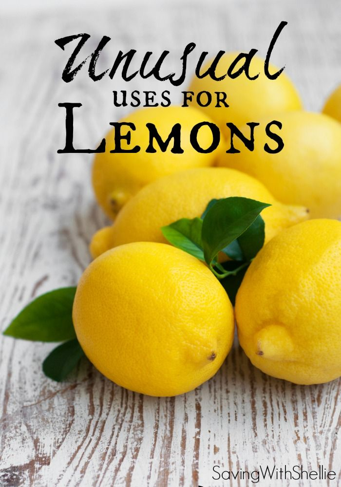 This list has some of my favorite unusual uses for lemons like face scrub, rust spot remover and more. Cheaper and more natural than store bought products and they smell great!