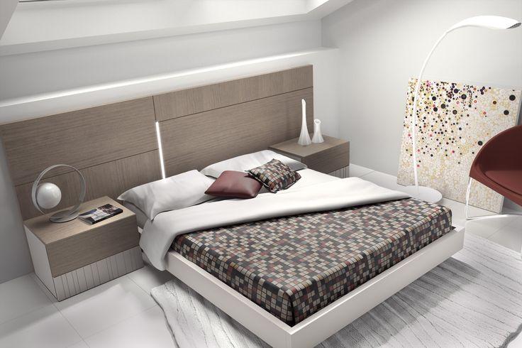 Dormitorios de la nueva colección de Guardia taller de muebles, Diseños modernos en una firma clasica dentro de los fabricantes de muebles Españoles, Calidad y experiencia en la fabricación de muebles con una imagen renovada y funcional,