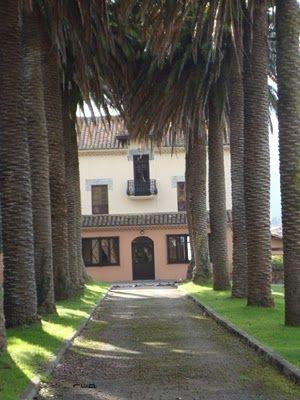 casa de las palmeras colombres llanes