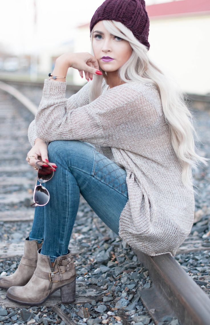 oversized sweater love this look