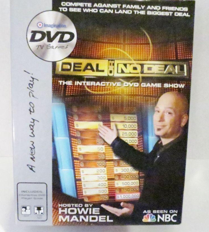 Deal or No Deal DVD Game host Howie Mandel Imagination TV games 2006 #Imagination