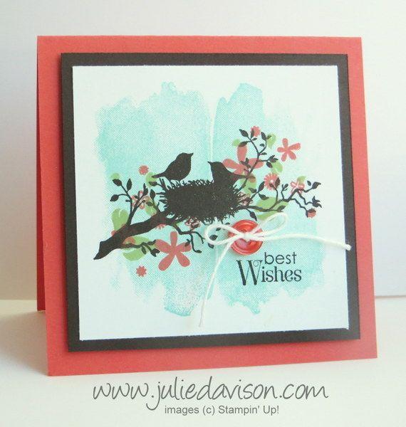 Perpetual Calendar Stamp : Stampin up world of dreams perpetual calendar card