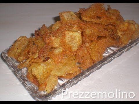 Patatine fritte croccanti fatte in casa (Chips tipo Pringles): Ricetta s...
