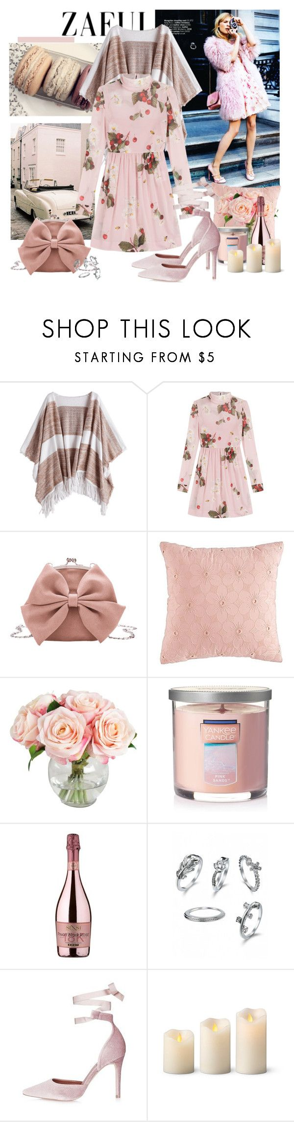 """""""Weekend getaway"""" by moni4e ❤ liked on Polyvore featuring WALL, RED Valentino, Yankee Candle, SENSI, Topshop and Improvements"""