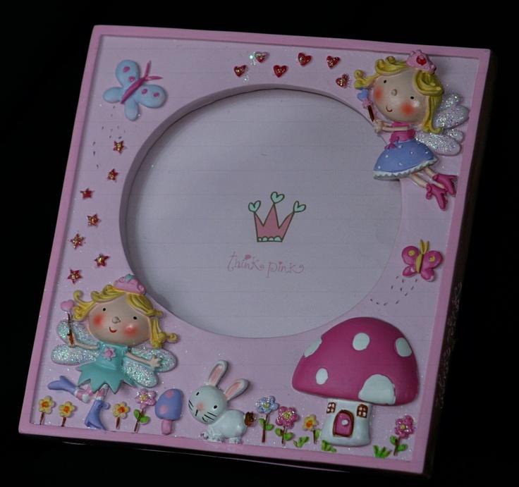 Toadstool Fairy Photo Frame