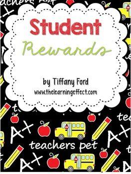 Student Rewards - FREE