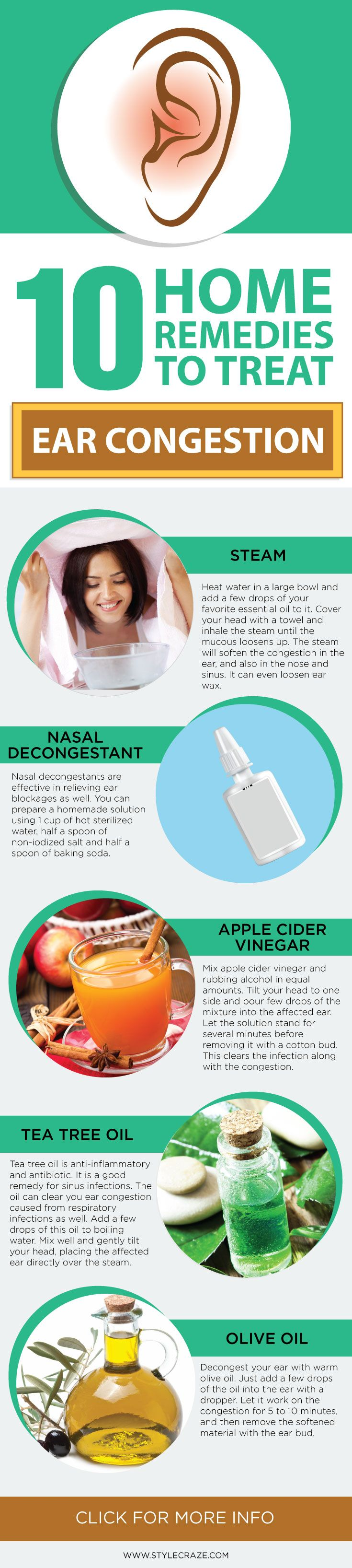 10 Effective #Homeremedies To Treat Ear Congestion