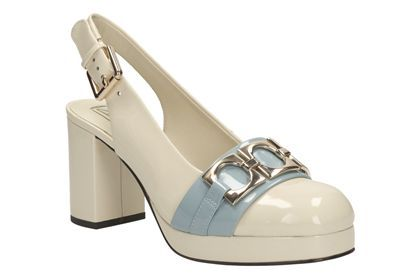 Womens Smart Shoes - Orla Beatrice in Cream from Clarks shoes