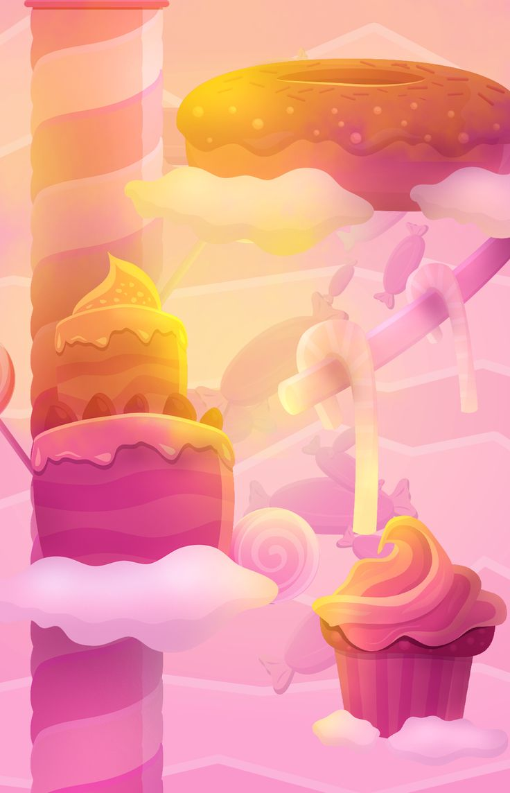 From cotton candy clouds to cupcake platforms, the Candyland world is the sweetest place for #Clumzee! #EndlessClimber