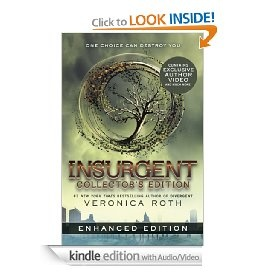 Insurgent: Collector's Edition (Enhanced Edition) (Divergent) [Kindle Edition with Audio/Video], (adventure, dystopian, dystopian fiction, young adult, young adult dystopian novel, dystopia, ya series, paranormal romance, dystopian young adult fiction, books to film)