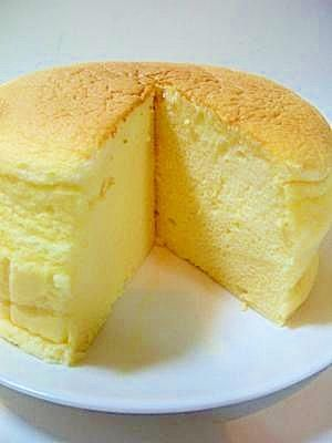 Economic! Fluffy with sliced cheese ★ Souffle cheese