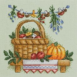 Small Shelf 2: Fall Cross, Cross Stitch, Counted X Stitch, Cross Stitch Patterns, Cindy S Cross, Cross