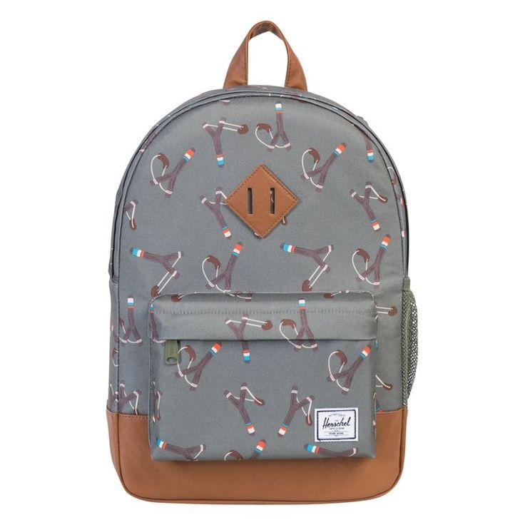 Herschel Heritage Youth Backpack, Sticks & Stones