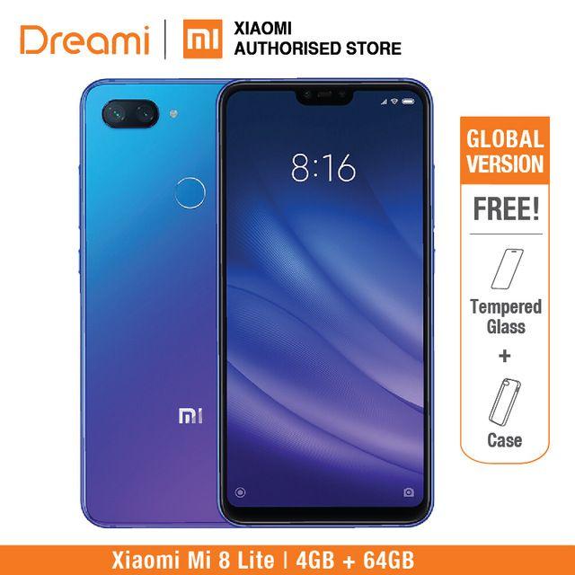 Global Version Xiaomi Mi 8 Lite 64gb 4gb Ram Brand New And Sealed Mi8 Lite 64gb Review Xiaomi 4gb Ram 64gb