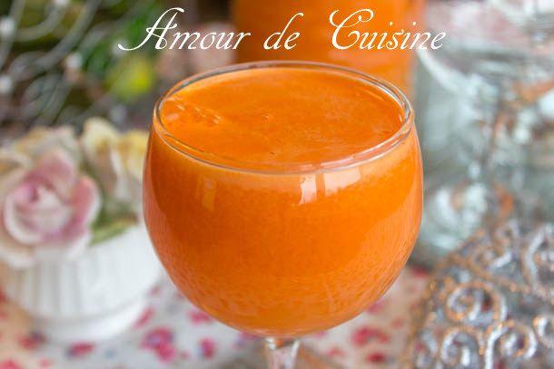Jus D Oranges Et Carottes Fait Maison Amour De Cuisine Recette Jus D Orange Jus Fait Maison