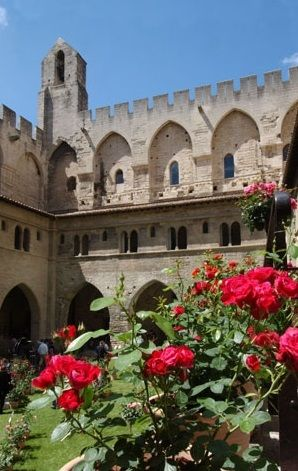 Palais des Papes, Avignon - One time fortress and palace, the papal residence was the seat of Western Christianity during the 14th century.