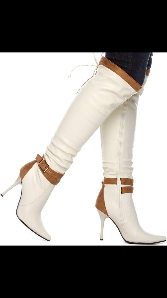 40 best Boots images on Pinterest | Oberschenkel hohe stiefel ...