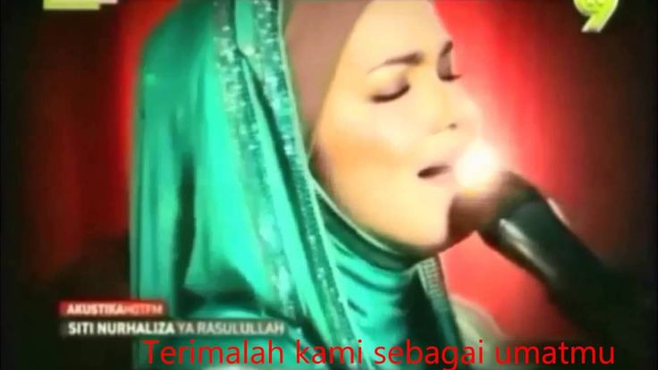 siti nurhaliza---ya rasullullah (lirik)