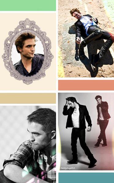 Mr Robert Pattinson....FeistyAngel collage