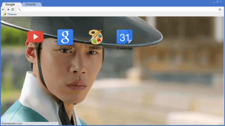 Han Joo-Wan Chrome Theme - ThemeBeta