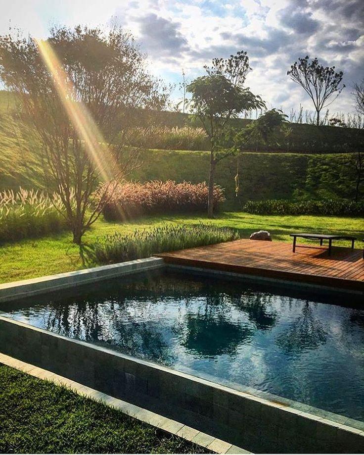 """4,698 Likes, 11 Comments - Revista Formas (@revistaformas) on Instagram: """"Paisagismo por  Cate Poli Paisagismo  Fazenda Dona Carolina - SP  _  #decor #decoracao #detalhes…"""""""