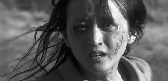 """Je n'ai pas mieux que cette image, pour illustrer le Grand Prix du festival de Gérardmer 2014: """"Miss Zombie"""", film japonais de Sabu."""
