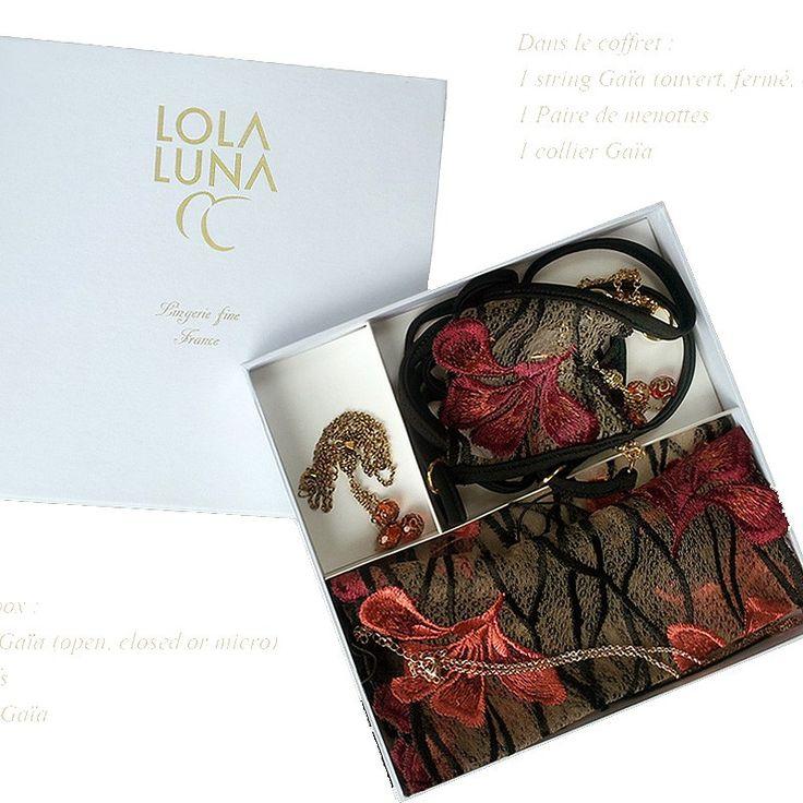 """Luksusowy zestaw """"Gaia"""" Very sexy www.lolaluna-shop.pl"""