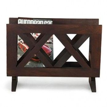 Buy Clinton #Magazine #Rack (Mahogany Finish) Online in India at the most affordable prices from Wooden Street. Give amazing look to your home by stylish #magazine #racks online and keep your magazines and newspaper in an organised way. Visit : https://www.woodenstreet.com/magazine-rack Awesome #Magazine #Racks #Online available in #Ahmedabad #Bangalore #Bhopal #Chandigarh #Chennai #Coimbatore