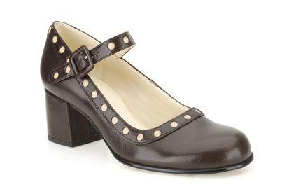 Clarks Orla Dorothy - Dunkelbraunes Leder - Elegante Damenschuhe | Clarks