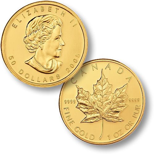Canadian Gold Maple Leaf Coins: I did not know we made these!