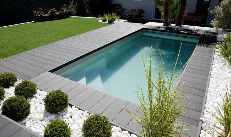 Les 25 meilleures id es de la cat gorie liner pour piscine for Piscine liner vert
