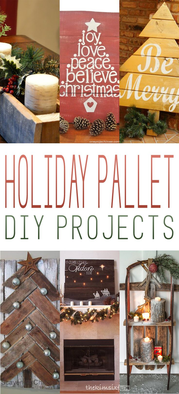 Holiday Pallet DIY Projects!