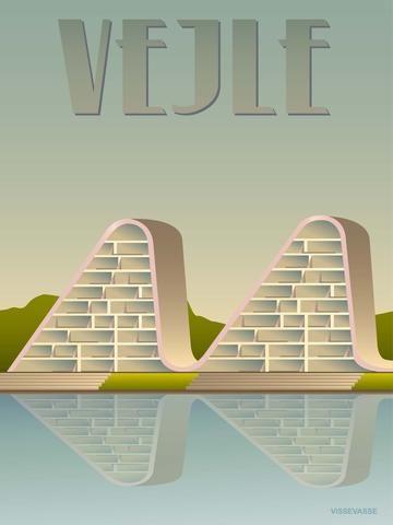 VEJLE Bølgen - plakat