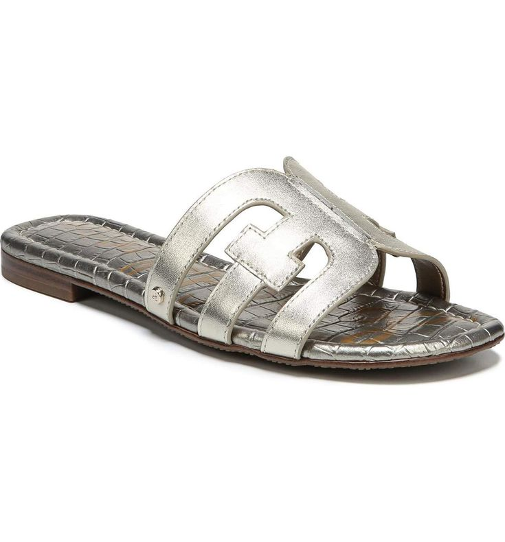 Main Image - Sam Edelman Bay Cutout Slide Sandal (Women)