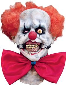 Smiley Scary Clown Mask - 299997 - Halloween Mask | Trendyhalloween.com