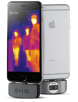FLIR ONE Thermal Imaging Camera Attachment for iOS and Android