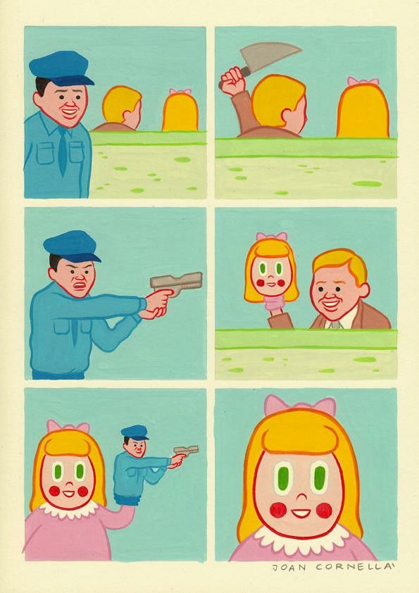 Those eyes  By Joan cornella
