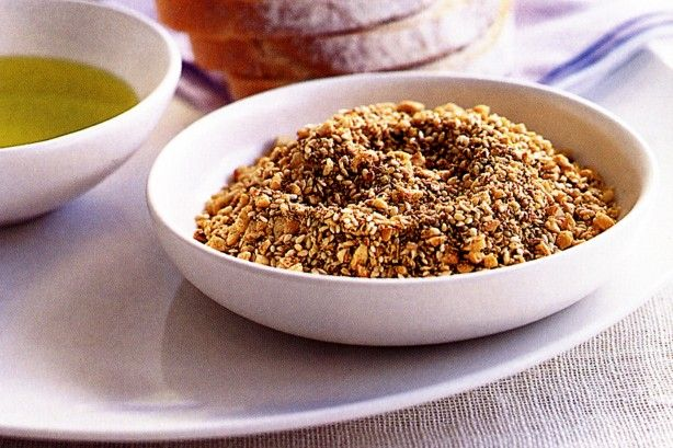 Traditional Egyptian dukkah is guaranteed to spice up your dinner menu.