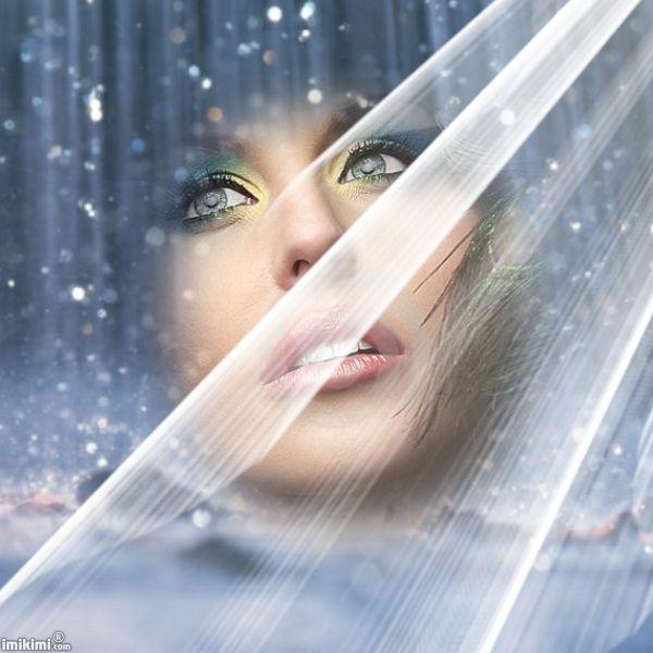 pleut des paillettes